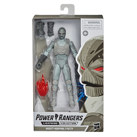 Power Rangers Lightning Collection Zeo Z Putty 6-Inch Premium Collectible Action Figure Toy with Accessories - Toy Snowman