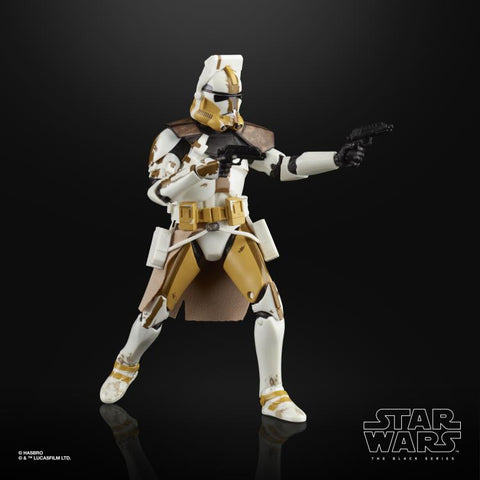 "Star Wars: The Black Series 6"" Commander Bly (The Clone Wars) - Toy Snowman"