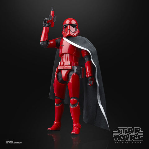 Star Wars The Black Series Captain Cardinal Toy 6-Inch-Scale Star Wars Galaxy's Edge Collectible Action Figure - R Exclusive - Toy Snowman