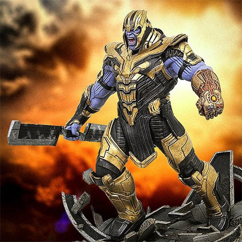Marvel Milestones Avengers: Endgame Armored Thanos Resin Statue Numbered Exclusive  - Free Shipping - Toy Snowman
