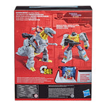 Transformers Toys Studio Series 86-06 Leader The Transformers: The Movie Grimlock and Autobot Wheelie Action Figure - Toy Snowman