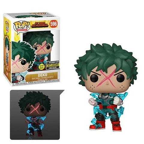 My Hero Academia Deku Full Cowl Glow-in-the-Dark Pop! Vinyl Figure - Entertainment Earth Exclusive - Toy Snowman
