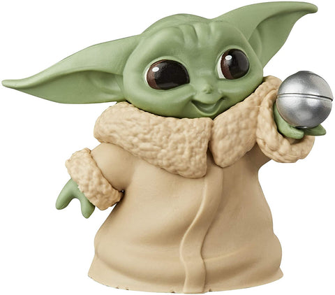 "Star Wars The Bounty Collection The Child Collectible Toy 2.2-Inch The Mandalorian ""Baby Yoda"" Ball - Toy Snowman"