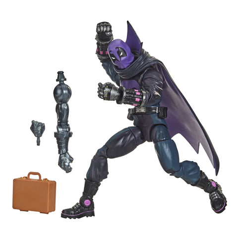Hasbro Marvel Legends Series Spider-Man: Into the Spider-Verse Marvel's Prowler 6-inch Collectible Action Figure - Toy Snowman