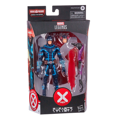 (preorder) Hasbro Marvel Legends X-Men Series 6-inch Collectible Cyclops Action Figure Toy And 2 Accessories, Ages 4 And Up - Toy Snowman