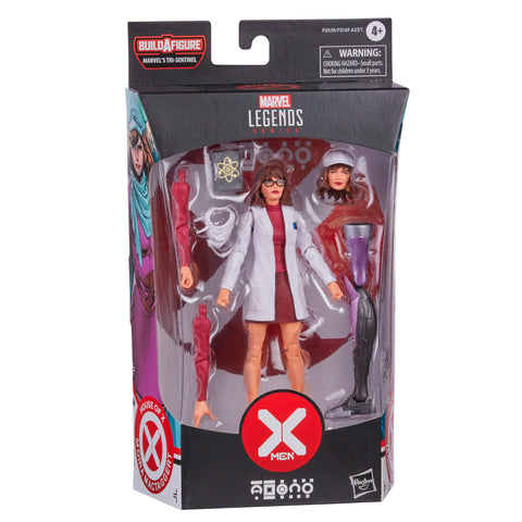 (preorder) Hasbro Marvel Legends Series X-Men 6-inch Collectible Moira MacTaggert Action Figure Toy And 5 Accessories, Age 4 And Up - Toy Snowman