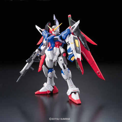Bandai Hobby #11 RG Destiny Gundam Model Kit, 1/144 Scale - Toy Snowman