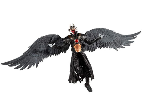 The Batman Who Laughs DC Multiverse The Batman Who Laughs with Sky Tyrant Wings Action Figure (Collect to Build: The Merciless) - Toy Snowman