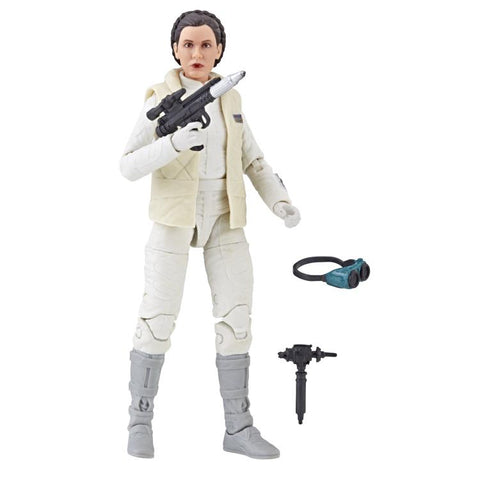 "Star Wars: The Black Series 6"" Princess Leia Organa (Empire Strikes Back) - Toy Snowman"