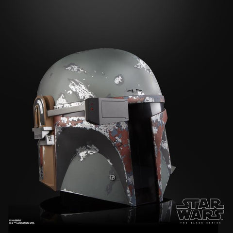 (preorder batch 2 September) Star Wars: The Black Series Boba Fett 1:1 Scale Wearable Helmet (Electronic) - Toy Snowman