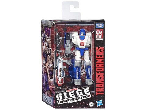Transformers War for Cybertron: Siege Deluxe Mirage - Toy Snowman