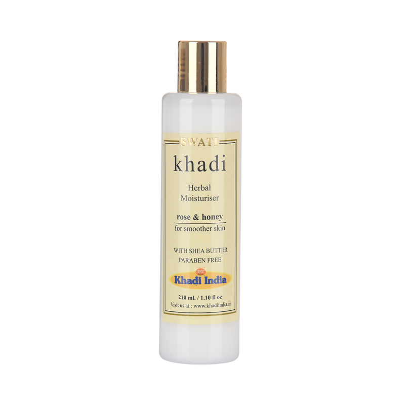 Khadi - Ayurvedic l Moisturising Lotion - Rose and Honey