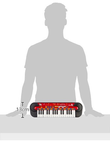 Simba Smoby 106833149 Music World' Electronic 32 Key Kids Keyboard Programmed with Demo Songs, Rhythms & Instrument Sounds | Record & Play Functions