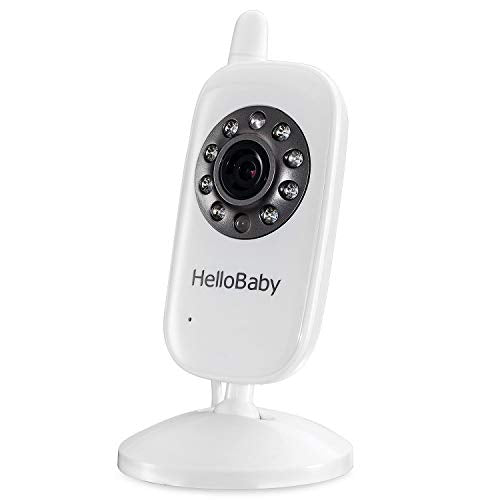 HelloBaby Additional Camera for HB20 HB24 HB32 Video Baby Monitor, NOT Fit for HB248 HB65
