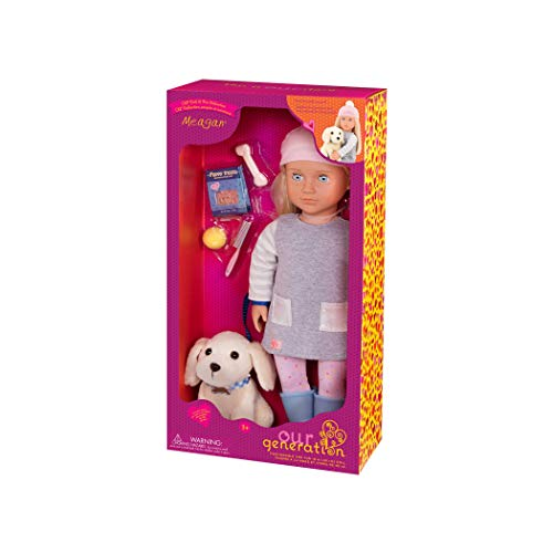 Our Generation 70.31242Z Meagan Doll & Pet Toy, 18 inch / 46 cm Doll