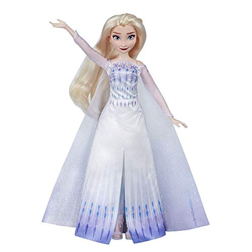 Disney Frozen Musical Adventure Elsa Singing Doll, Sings 'Show Yourself' Song from Disney's Frozen 2 Movie, Elsa Toy for Kids