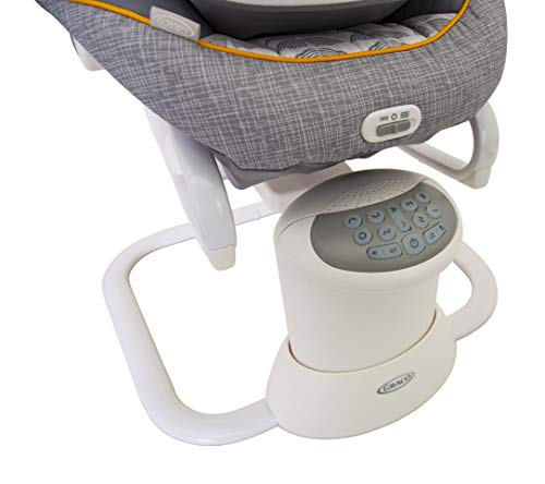 Graco All Ways Soother 2-in-1 Baby Swing and Portable Rocker (Birth to 9 Months Approx, 0-9kg), with Vibration and Adjustable Swing Speed, Horizon