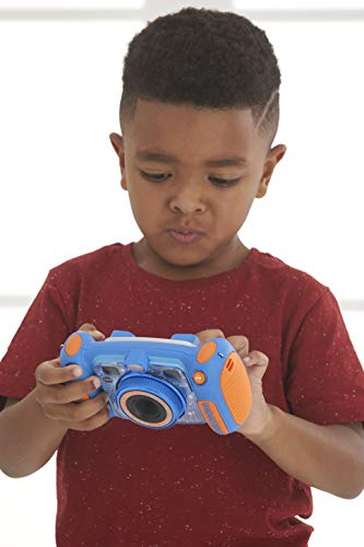 VTech Kidizoom Duo Camera 5.0|Digital Camera For Children |Electronic Toy Camera |Photos & Video For Kids Aged 3, 4, 5, 6, 7, 9 Years Old, Blue
