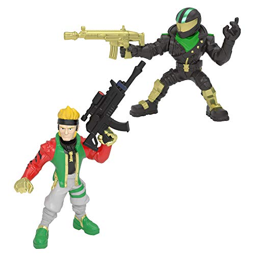 Fortnite 2 Battle Royale Collection Figures-Master Key and Lucky Rider