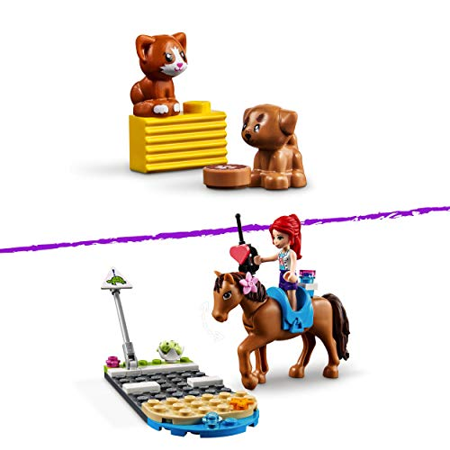 LEGO 41446 Friends Heartlake City Vet Clinic Animal Rescue Playset with Mia, Savannah and Donna, Horse Toy and Guide Dog
