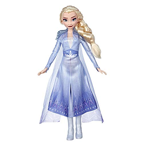 Disney Frozen Elsa Fashion Doll With Long Blonde Hair and Blue Outfit Inspired by Frozen 2 – Toy for Kids 3 Years Old and Up