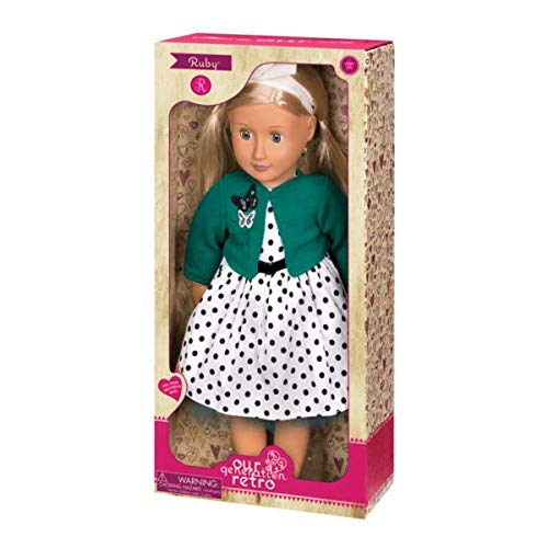 Our Generation BD61000A Ruby Retro Doll, Various