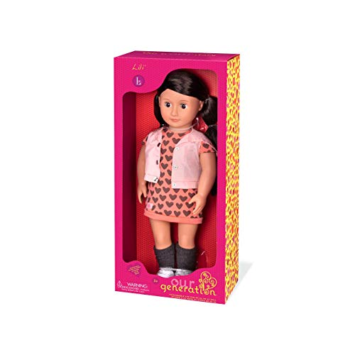 Our Generation BD37475 Lili Fashion Doll, Various