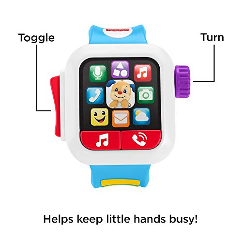 Fosher-Price Laugh & Learn Time to Learn Smartwatch