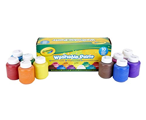 CRAYOLA® Paint extravaganza Activity Set, Art& Craft Value, Home and Back to School Painting Supplies, Gift for Kids, Age 5, 6,7,8,9+
