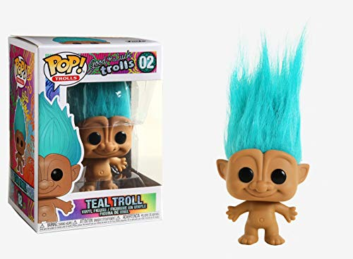Funko 44603 POP Teal Troll Classic Collectible Toy, Multicolour