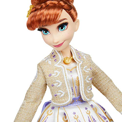 Disney Frozen Elsa, Anna and Olaf Fashion Doll Set With Dresses and Shoes Inspired by Disney's Frozen 2 – Toy For Children Aged 3 and Up