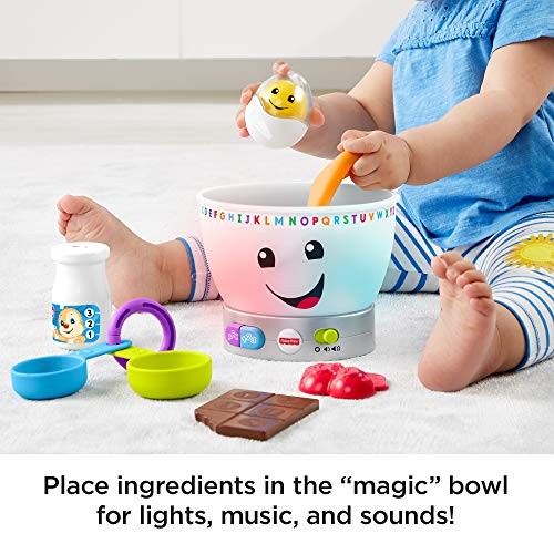 Fisher-Price GJW20 Laugh and Learn Magic Colour Mixing Bowl