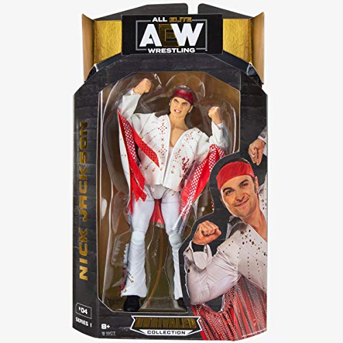 All Elite Wrestling AEW Unrivalled Collection 16.5 cm Figure - Nick Jackson
