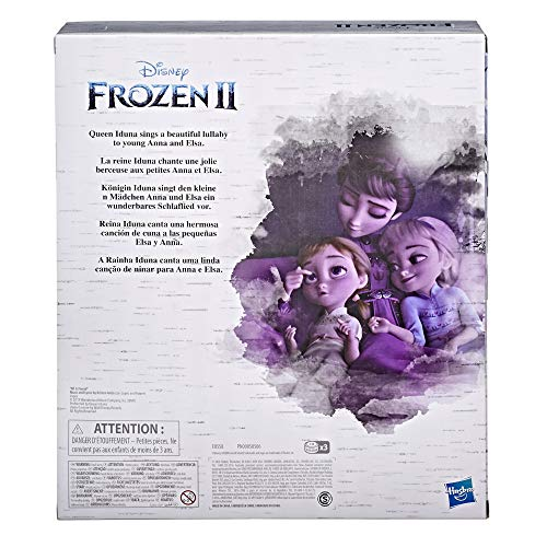Disney's Frozen 2 Queen Iduna Lullaby Set with Elsa and Anna Dolls, Singing Queen Iduna, Toy for Girls Inspired by Disney's Frozen 2