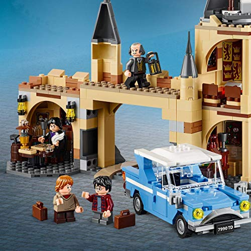 LEGO 75953 Harry Potter Hogwarts Whomping Willow Toy & 75947 Harry Potter Hagrid's Hut: Buckbeak's Rescue Playset with Hippogriff Figure, Gift Idea for Wizarding World Fans