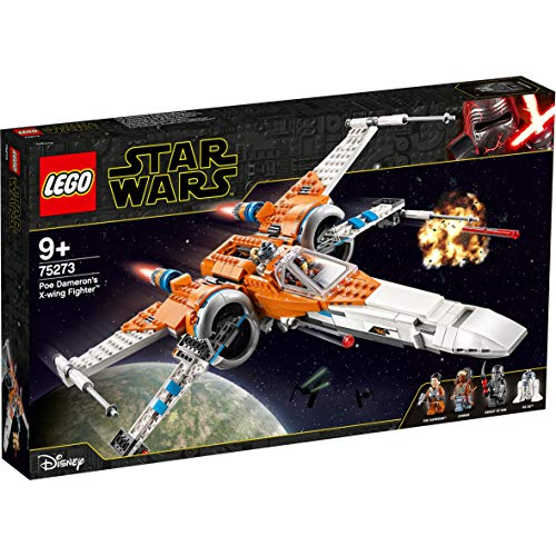 LEGO 75273 Star Wars Poe Dameron's X-wing Fighter Building Set, The Rise of Skywalker Movie Series