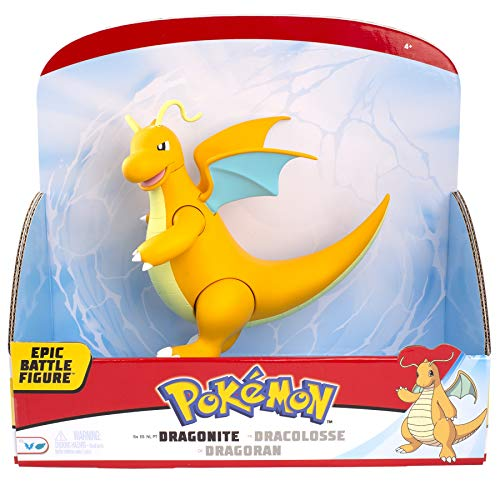 PoKéMoN 97696 Pokemon 12 INCH Epic Figure Dragonite, No Colour