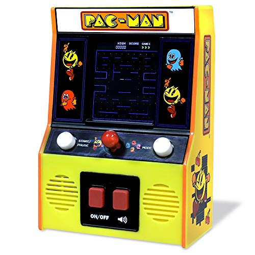 Basic Fun 09530 Classics Pac-Man Color LCD Retro Mini Arcade Game