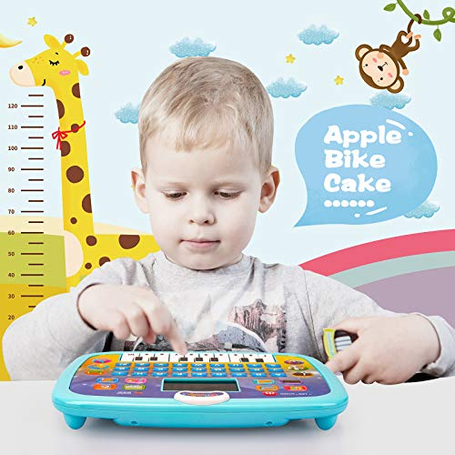 Toys for 1 2 3 Year Od Boys,Educational Toys age 2 Year Old Boy Girls Toys age 2 3 Kids' electric learning toys Interactive Toy Kids Tablet for 1-4 year olds Girls Boys Toddlers Toys Gift
