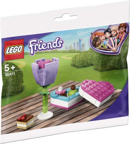 LEGO Friends Candybox and Flower Polybag Set 30411 (Bagged)