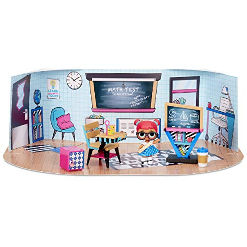 LOL Surprise Collectable Dolls for Girls - With 10 Surprises and Accessories - Teacher's Pet - Furniture Series 3