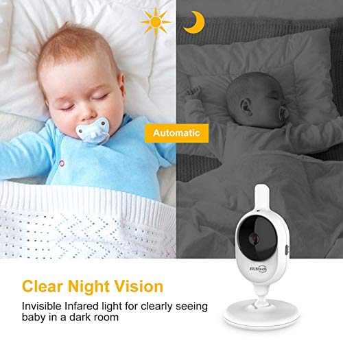 JSLBtech Video Baby Monitor with 4.3