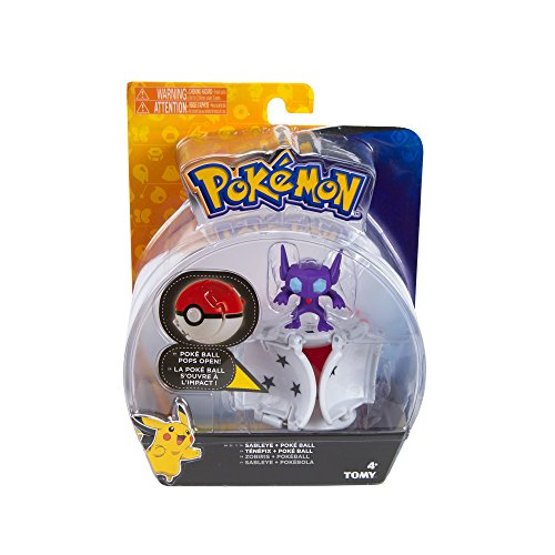 Pokemon Throw N Pop Poke Ball with Sableye Action Figure Toy Set