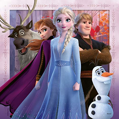 Ravensburger Disney Frozen 2, 3 x 49 piece Jigsaw Puzzles for Kids age 5 years and up