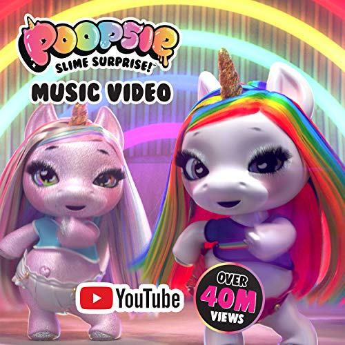 Poopsie Dancing Rainbow Brightstar – Dancing & Singing Unicorn Doll-Battery-Operated Pet Toy for Kids