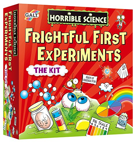 Galt Toys, Horrible Science - Frightful First Experiments, Science Kit for Kids, Ages 6 Years Plus