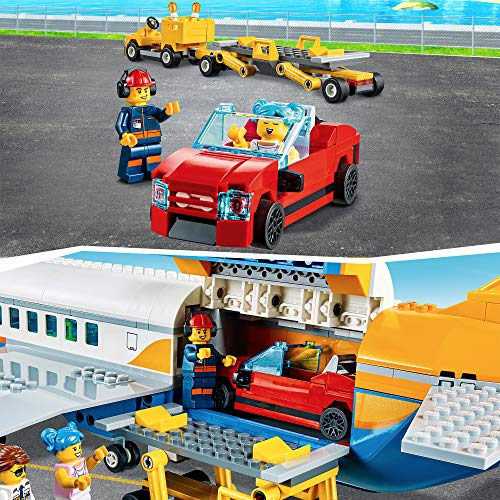 LEGO 60262 City Airport Passenger Airplane, Terminal & Truck Play Set for Kids 6+