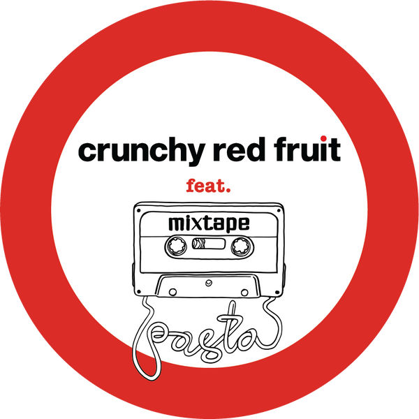 Crunchy Red Fruit x Mixtape collaboration