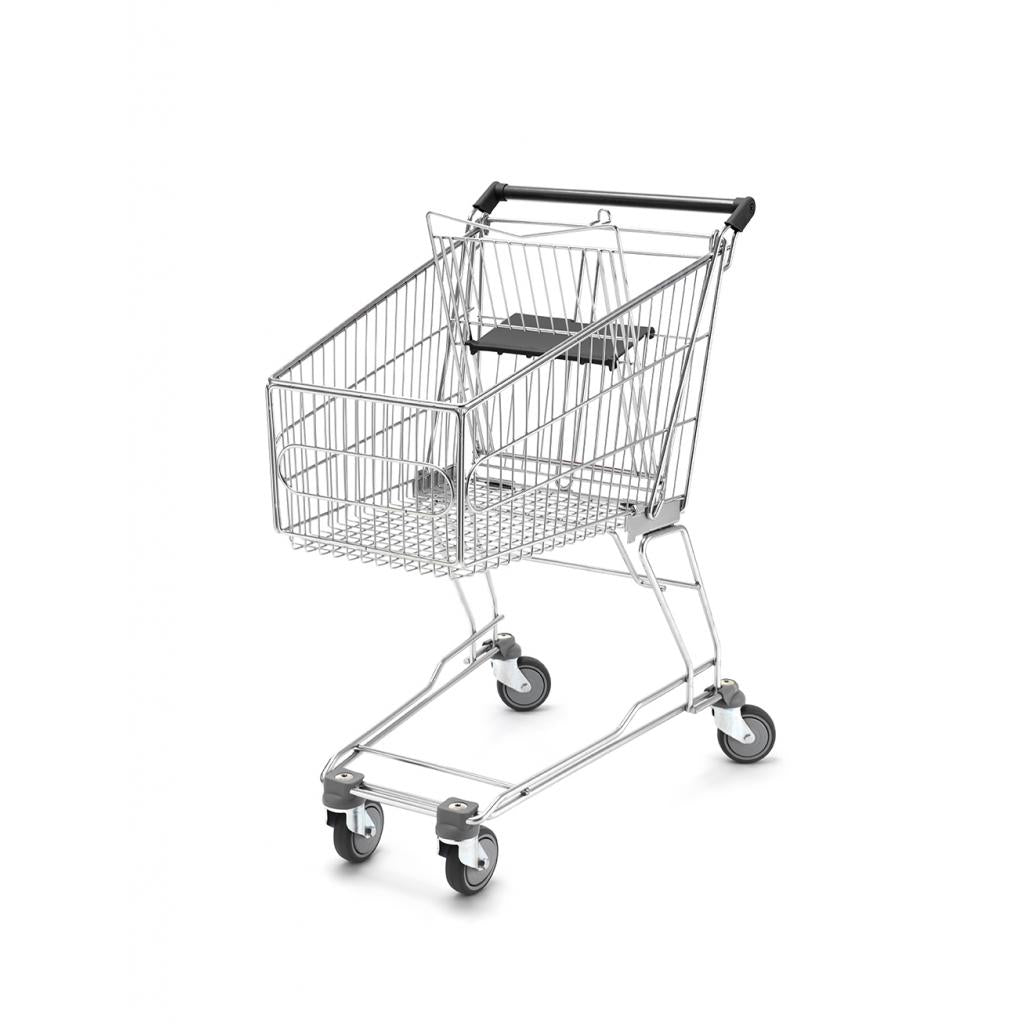 Shopping Trolley - Small Trolley, with Child Seat 80 Litres