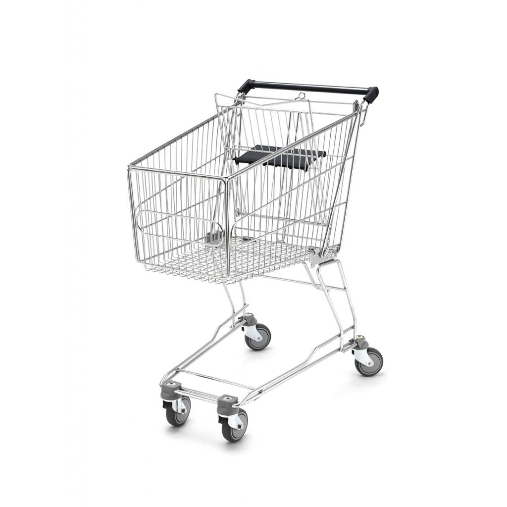 Shopping Trolley - Small Trolley, with Child Seat 100 Litres